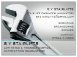 S Y STAIRLIFTS