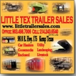 Little+Tex+Trailer+Sales%2C+Kemp%2C+Texas image