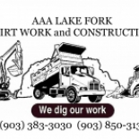 AAA+LAKE+FORK+DIRT+WORK+and+CONSTRUCTION%2C+Yantis%2C+Texas image