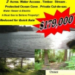 FSBO+2+Acres+water+access+property%2C+Coos+Bay%2C+Oregon image