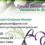 Special+Blessings+by+Suzen+Wedding+Officiant+%2C+Milford%2C+Pennsylvania image