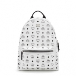 MCM+Medium+Stark+Backpack+In+White%2C+Toronto%2C+Ontario image