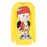 Moschino+Porky+Pig+Short+Dress+Yellow%2C+Boca+Raton%2C+Florida image