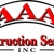 AAA Construction Services, Inc. Icon