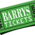 barry's tickets Icon