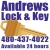 Andrews Lock And Key Icon