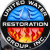 United Water Restoration Icon
