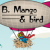 B Mango and Bird Icon