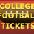 College Football Tickets Icon