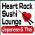 Heart Rock Sushi Icon