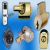 San Mateo Lock And Key Icon