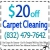 Houston Texas Carpet Cleaning Icon