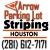 Arrow Parking Lot Striping Icon