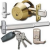 Golden Locksmith Services Icon