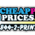Cheap Print Prices Icon