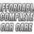 Affordable Complete Car Care Icon