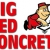 Big Red Concrete Icon